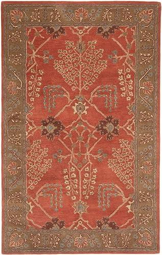 Jaipur Living Chambery Hand-Tufted Oriental Orange Area Rug 9'6″ X 13'6″