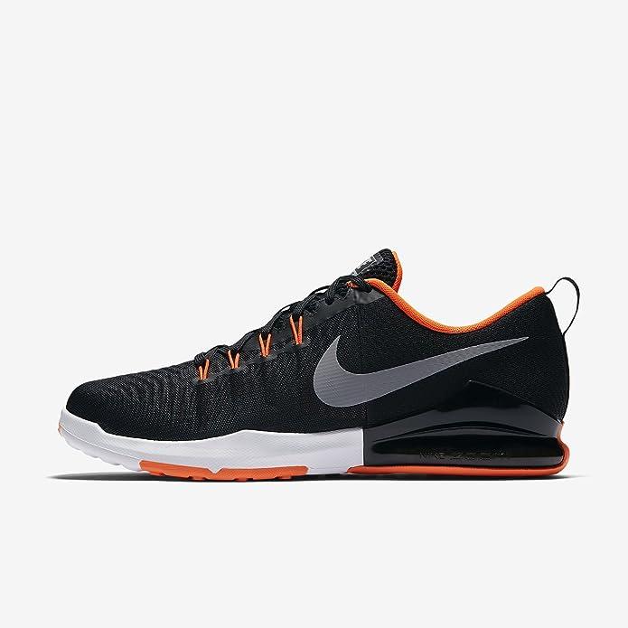 Nike Trainingsschuh Zoom Train Action, Chaussures de Fitness Homme, Noir (Black/Wolf Grey-Hyper 016), 45.5 EU