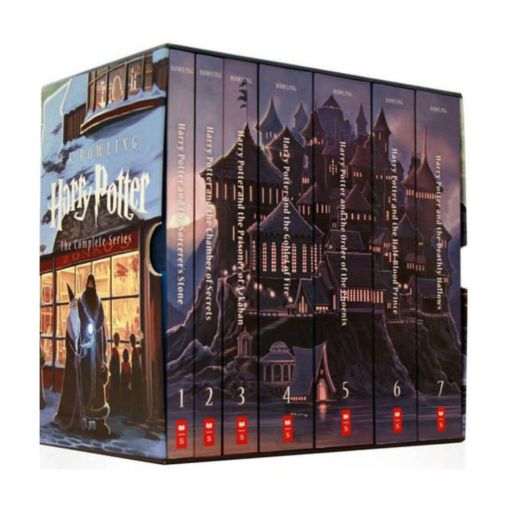 Harry Potter: The Box Set book cover