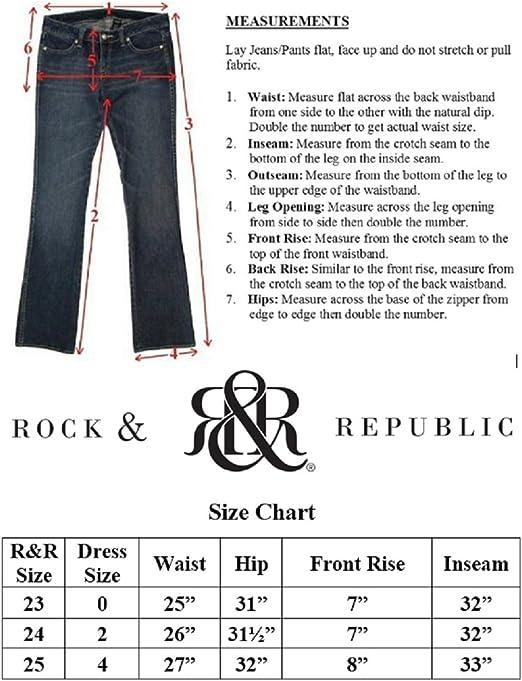 Rock Republic Jeans Costello Cos105 Grey Color Grey Size 28 Amazon Ca Clothing Accessories
