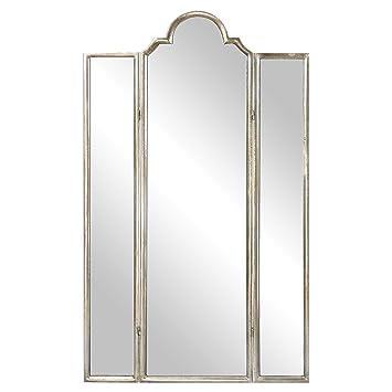 Super Amazon.com: Gorgeous Full Length Mirror Three Panel Arch Floor  LT79