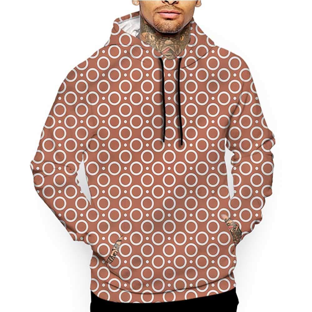 Hoodies Sweatshirt/Men 3D Print Boys Room,Vibrant Tile Pattern,Sweatshirts for Teens