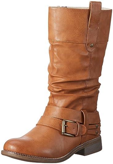 a8224658a41c Rieker Damen 95678 Langschaftstiefel  Amazon.de  Schuhe   Handtaschen