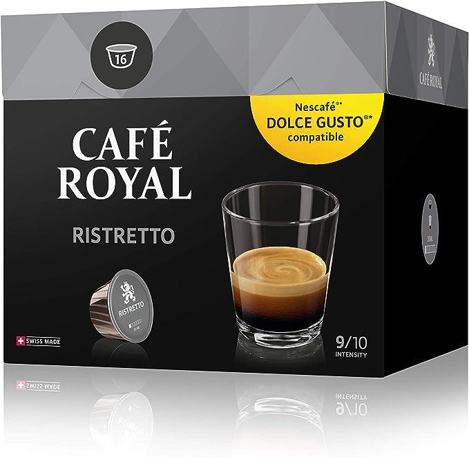 Café Royal Ristretto 48 cápsulas compatibles con Nescafé (R ...