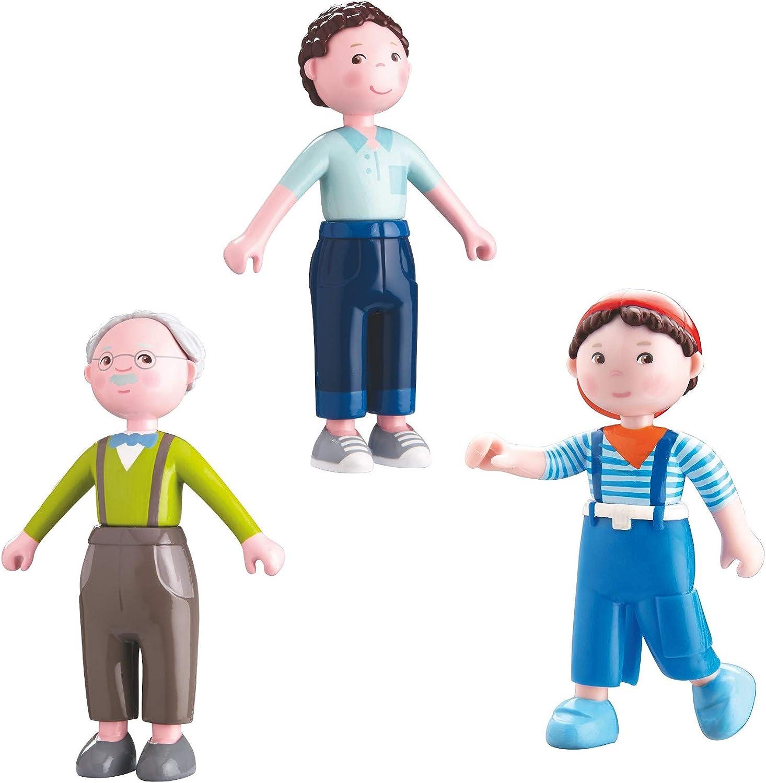 Haba 302006-Little Friends-Flexion Poupée Papa Michael