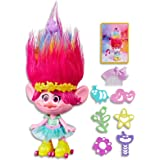 DreamWorks Trolls - Party Hair Poppy - Electronic Fashion Doll with Sound - inc Outfit & Accessories - Ages 4+