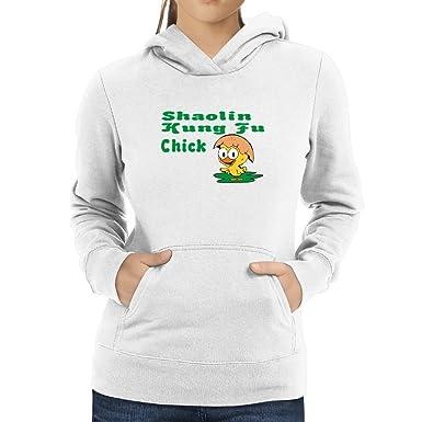 Amazon com: Eddany Shaolin Kung Fu Chick Women Hoodie: Clothing