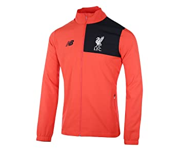 2681f9a1ceb New Balance Mens Gents Football Soccer Liverpool Training Presentation  Jacket - M