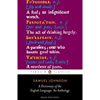 A Dictionary of the English Language: an Anthology (Penguin Classics)