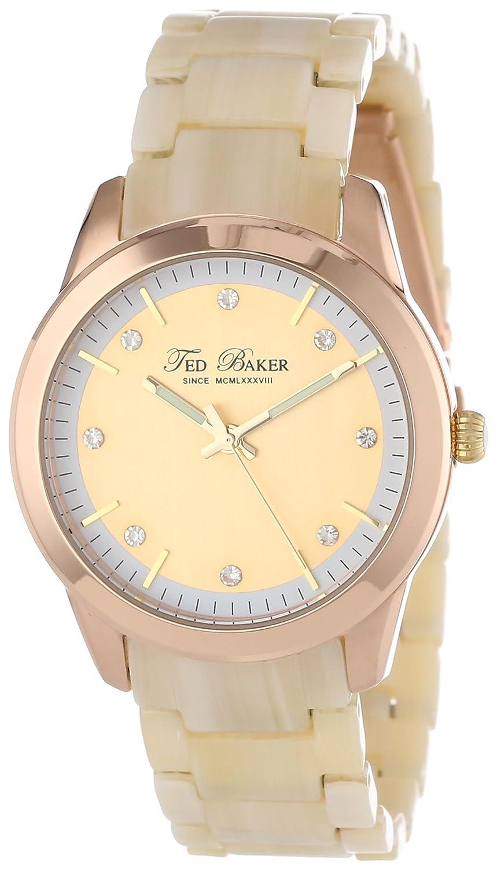 e92c7b0baf6c Amazon.com  Ted Baker Women s TE4082 Dress Sport Rose Gold Marbelite  Bracelet Watch  Watches
