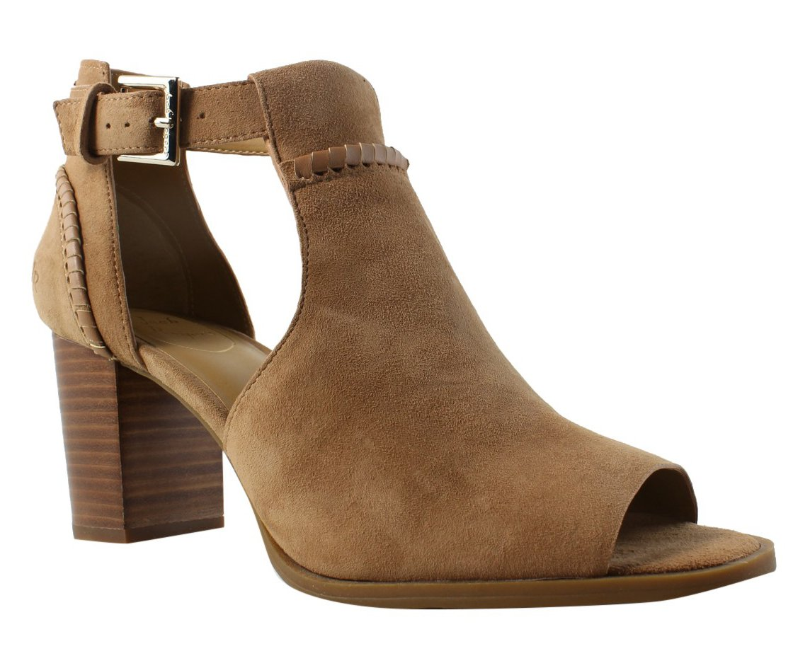 Jack Rogers Women's Cameron Suede Fashion Boot B077YPJM19 9.5 M US|Oak Suede