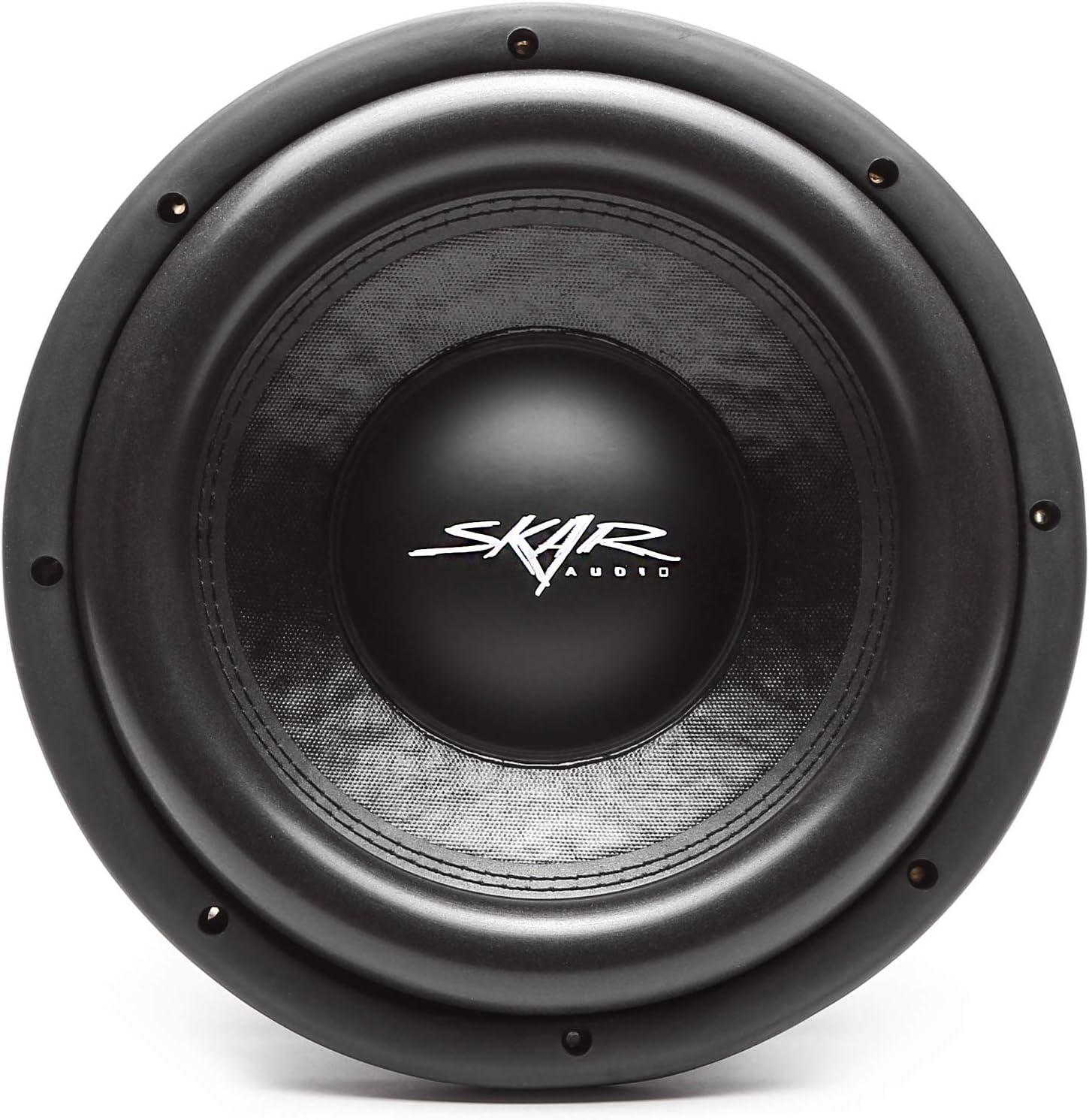 "NEW SKAR AUDIO VD-10 D4 10/"" 800 WATT MAX DUAL 4 OHM SHALLOW MOUNT CAR SUBWOOFER"