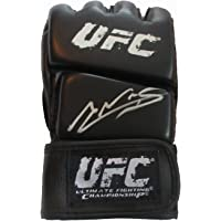 $139 » Amanda Nunes Autographed UFC Training Distress Training Fight Glove W/PROOF, Picture of Amanda Signing For Us, Ultimate Fighting Championship,…