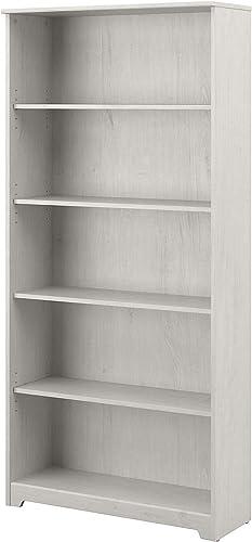 Bush Furniture Cabot Tall 5 Shelf Bookcase
