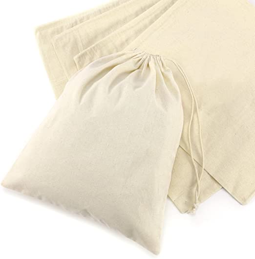 CLE DE TOUS - Bolsas de algodón Saquitos de algodón Bolsas organza ...
