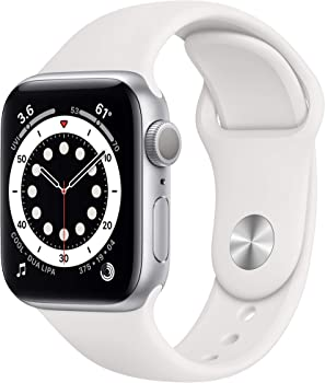 Apple Watch Series 6 40mm GPS Smartwatch (White or Red)