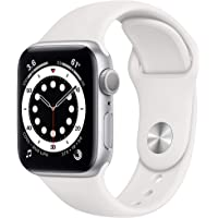 $384 » New AppleWatch Series 6 (GPS, 40mm) - Silver Aluminum Case with White Sport Band