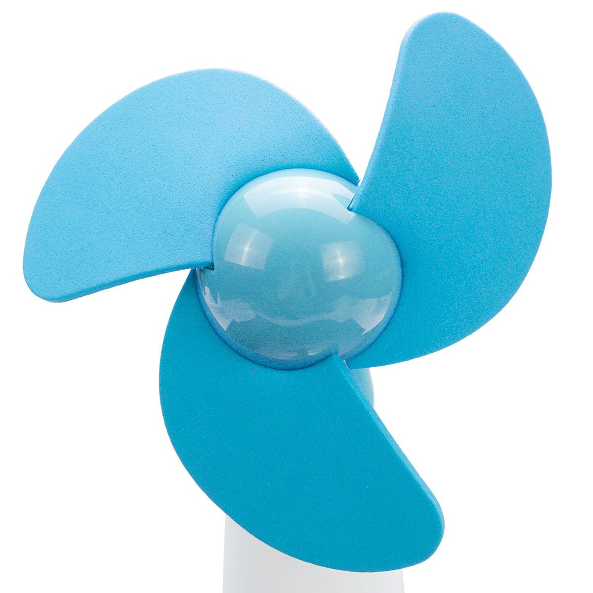 SAFETYON Handheld Ventilator Mini Standventilator Super Mute Fan Personal Portable Electric Cooling Fan for Home and Travel Battery Operated blue
