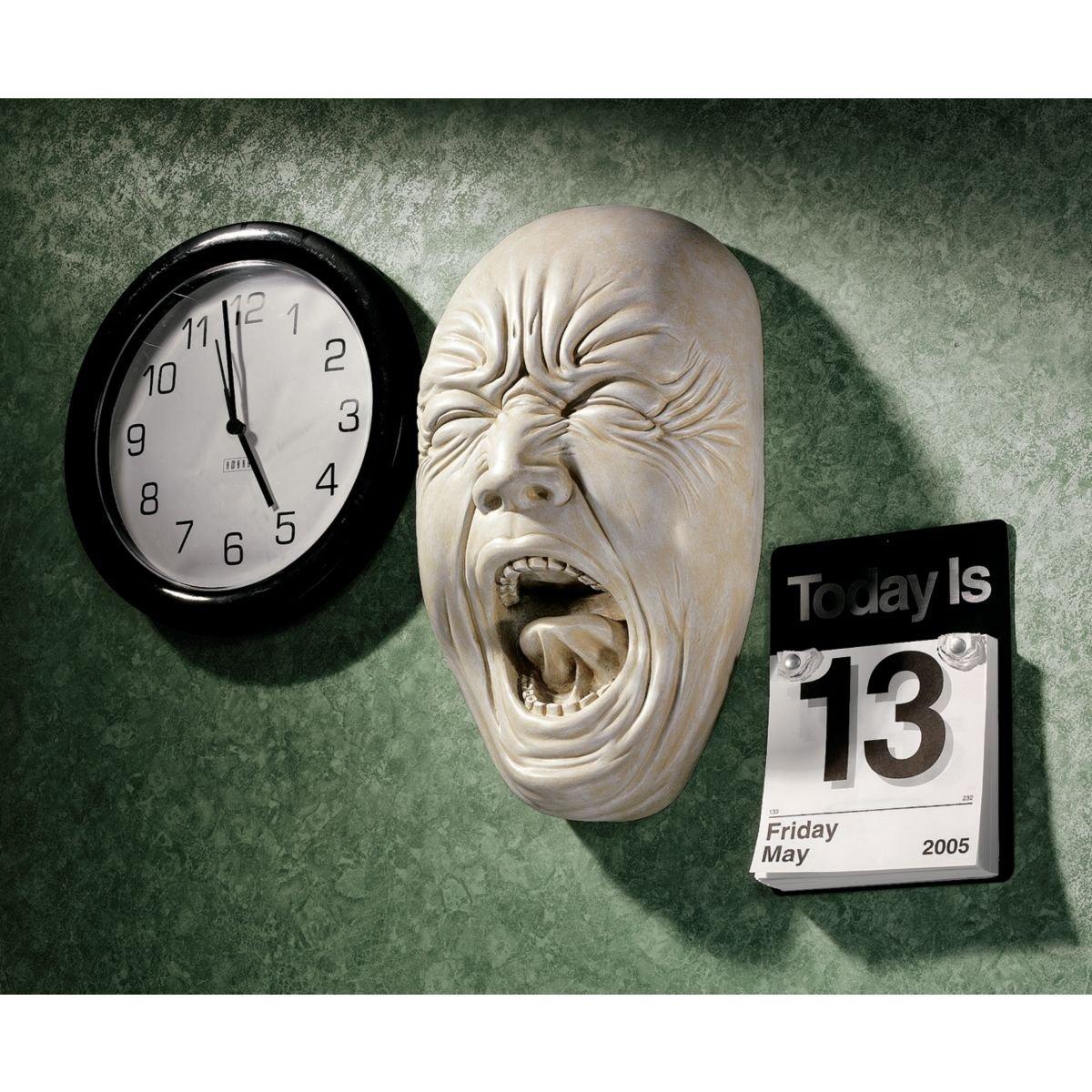 Design Toscano Screaming Simon Wall Sculpture