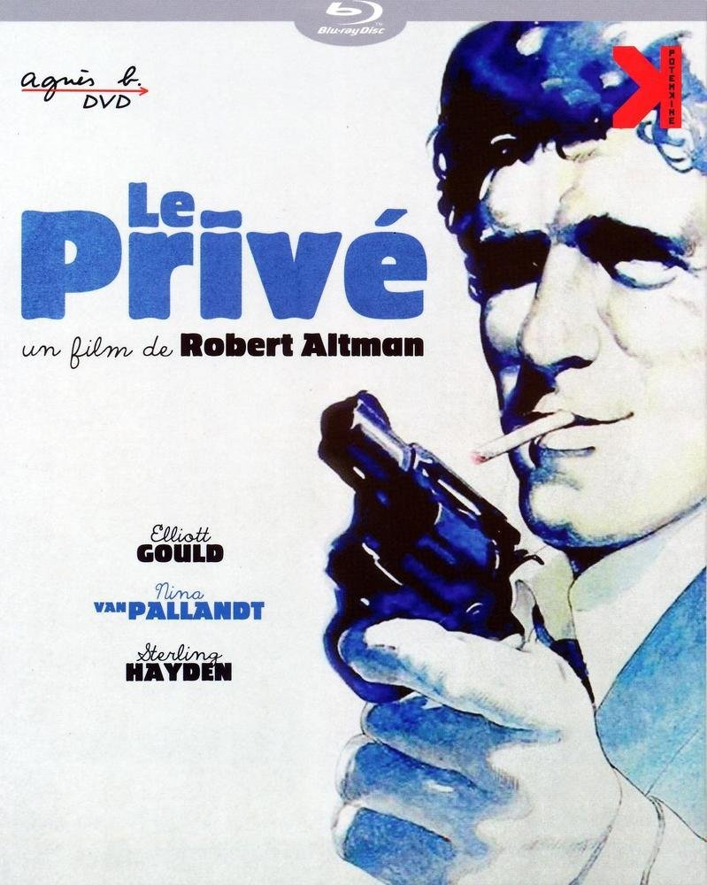The Long Goodbye ( The Long Good bye ) [ NON-USA FORMAT, Blu-Ray, Reg.B Import - France ]