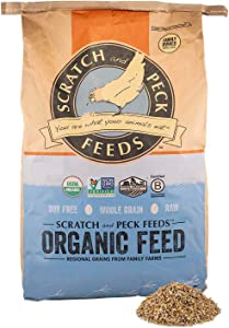 Scratch and Peck Feeds Organic Mini Pig Adult Feed - Certified Organic, Non-GMO Project Verified