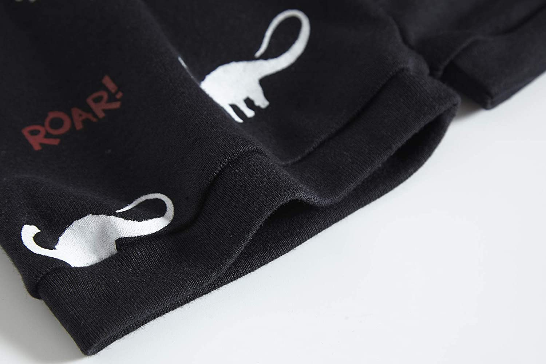 Family Feeling Shark Little Boys Shorts Set Pajamas 100/% Cotton Clothes Toddler Kid