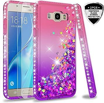 LeYi Compatible with Funda Samsung Galaxy J7 2016 Silicona ...