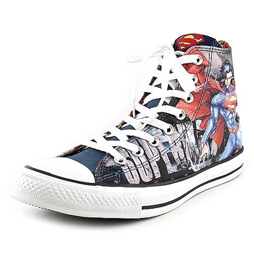 Converse All Star Hi Zapatillas de Superman DC Comics Fashion Super Hero Zapatos: Amazon.es: Zapatos y complementos