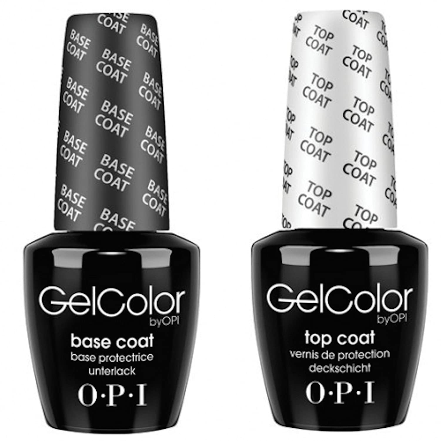 OPI Gel Color Gelcolor Top Base Duo Twin Set Kit