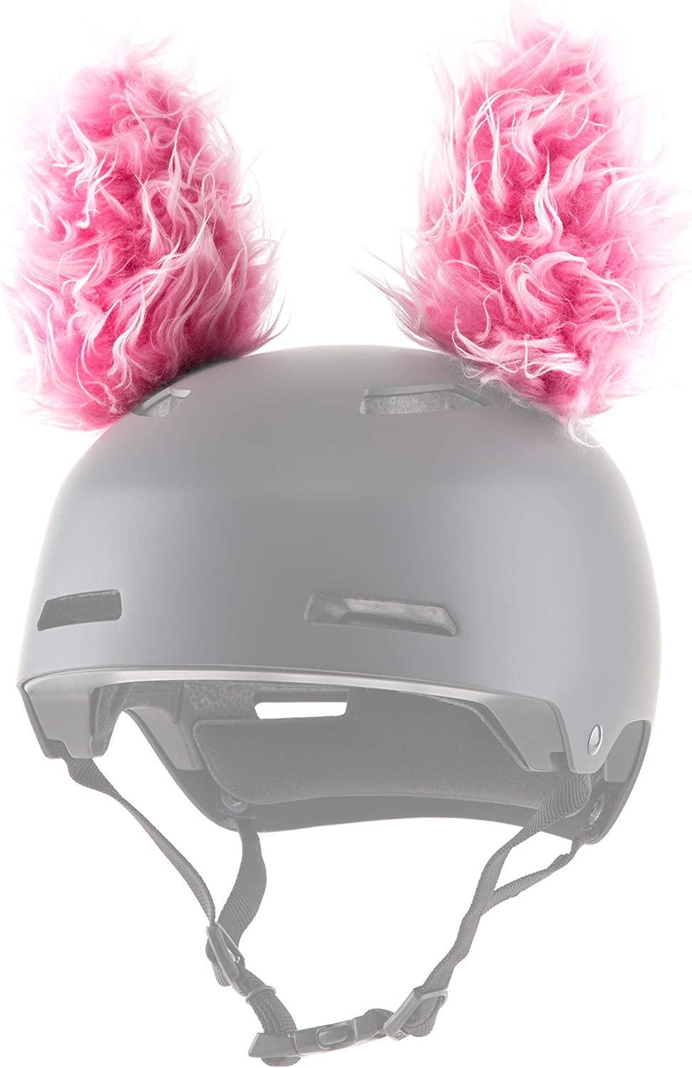 ParaWild Lynx Helmet Accessories w/Sticky Hook & Loop Fastener Adhesive (Helmet not Included), Fun Helmet Bunny/Rabbit Ears/Covers for Snowboarding, Skiing, Biking for Kids, Toddlers and Adults