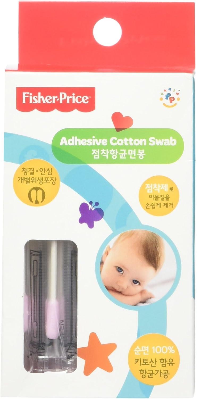Fisher-Price - Pañuelos adhesivos de algodón (50 unidades): Amazon ...