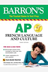 AP French Language and Culture with Online Test & Downloadable Audio (Barron's Test Prep) (French Edition) Kindle Edition