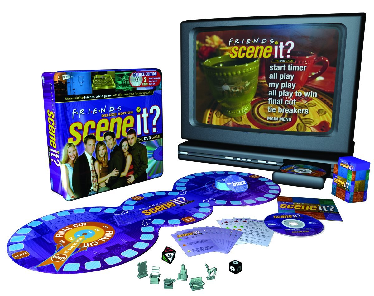Scene It? Deluxe Friends Edition DVD Game by Screenlife