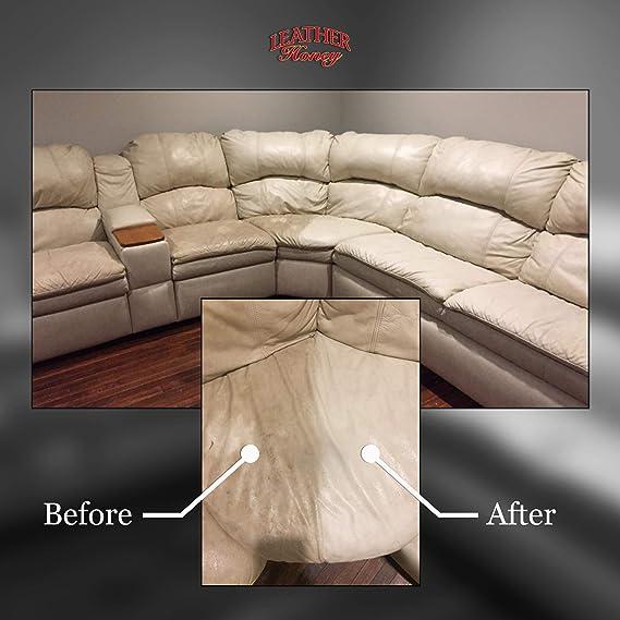 Leather Honey - Limpiador para cuero: El mejor limpiador de cuero para vinilo y ropa de cuero, muebles, interior de automóviles, zapatos y accesorios. ...