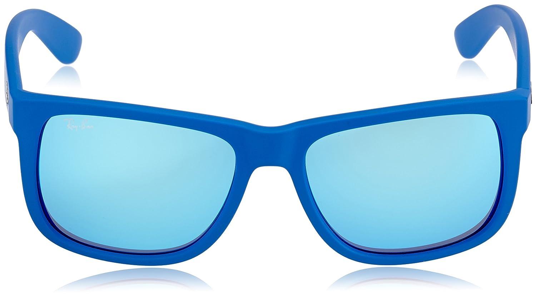 88e7105f66b RayBan Unisex Blue Wayfarer Sunglasses RB-4165-6088-55  Amazon.in  Clothing    Accessories