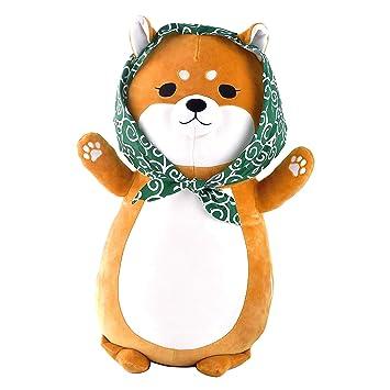 Amazon.com: Shiba Zukin Shiba Inu - Almohada con perlas Yuzu ...