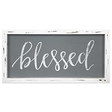 Brownlow Gifts Framed Linen Sign, Blessed