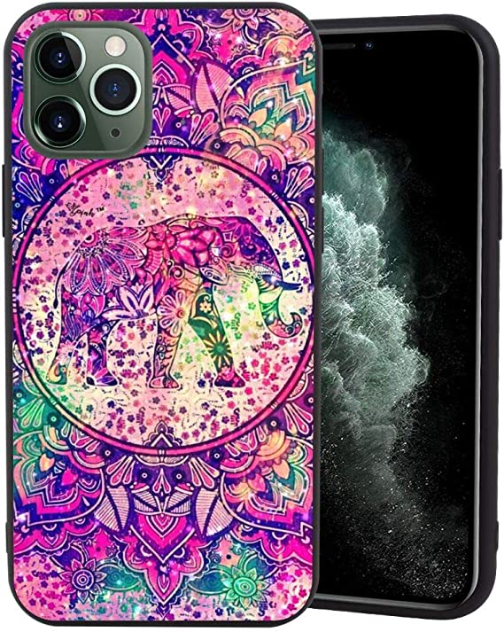 Mandala Wallpaper Hd Matte Edge Phone Case For Apple Iphone 11 Pro Max 6 5in Amazon Ca Cell Phones Accessories