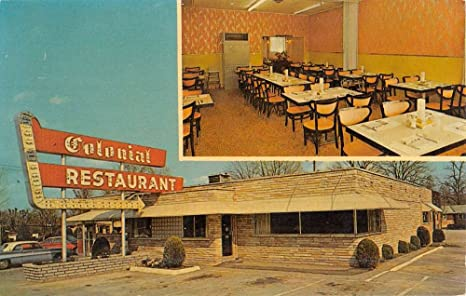La Follette Tennessee Colonial Restaurant Multiview Vintage Postcard K49832