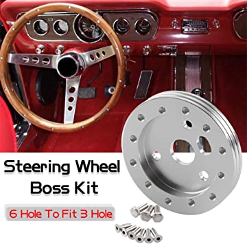 1.5 Steering/ Wheel/ Hub/ Adapter/ Conversion/ Spacer/ Black
