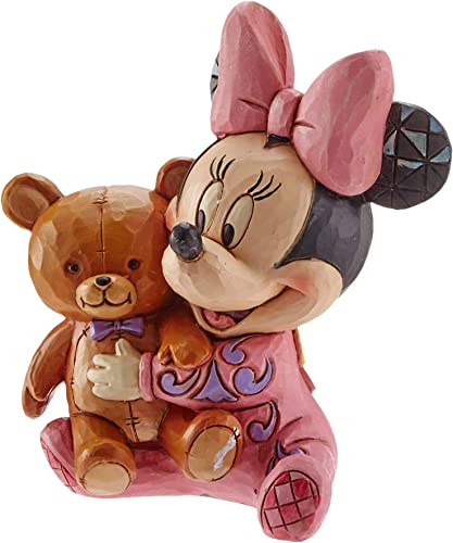Enesco Jim Shore Disney Traditions Bed Time Besties Baby Minnie Mouse Figurine 4049023