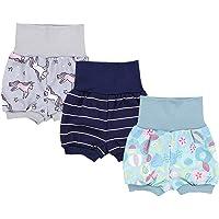 TupTam Pantalones Cortos para Bebés Niña Paquete de 3