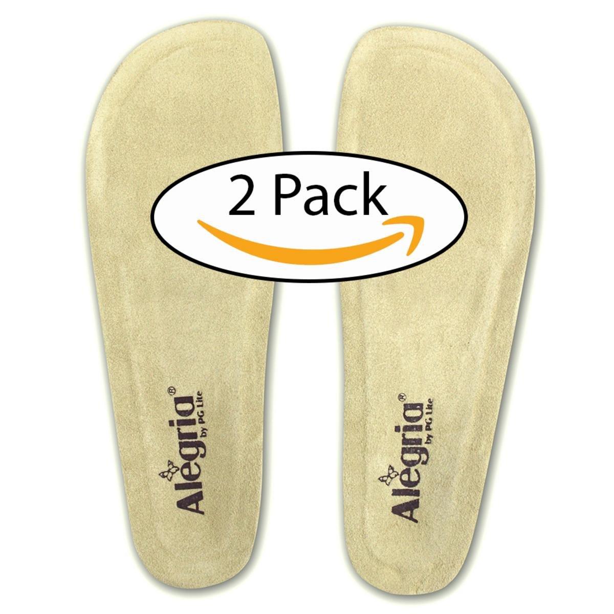 Alegria Women's 2 PACK Replacement Footbed Tan 38 (US Women's 8-8.5) Regular