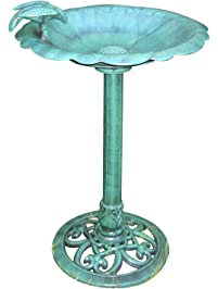 Amazon.com: Birdbaths & Supports: Patio, Lawn & Garden