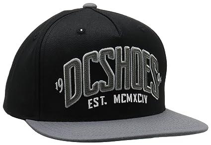 DC Shoes Cap Slipper M Hat - Gorra de náutica, color negro, talla DE: 0
