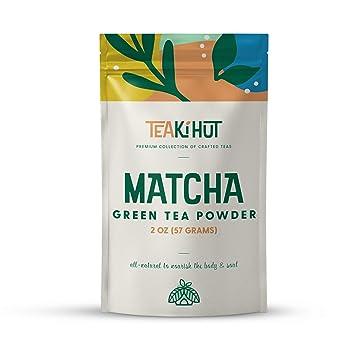 TEAki Hut Weight Loss Organic Matcha Green Tea