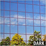 BDF S15 Window Film One Way Mirror Silver 15 (Dark) - 36in X 12ft