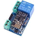WINGONEER Modulo WiFi Relay NUOVO ESP8266 5V 10A DC 7-30 Network