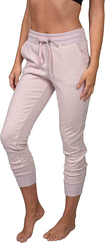 NEW Women/'s 90 DEGREES Heather Gray Jogger Pants Size Medium M