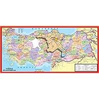 Art Puzzle Türkiye Haritası 123 Parça